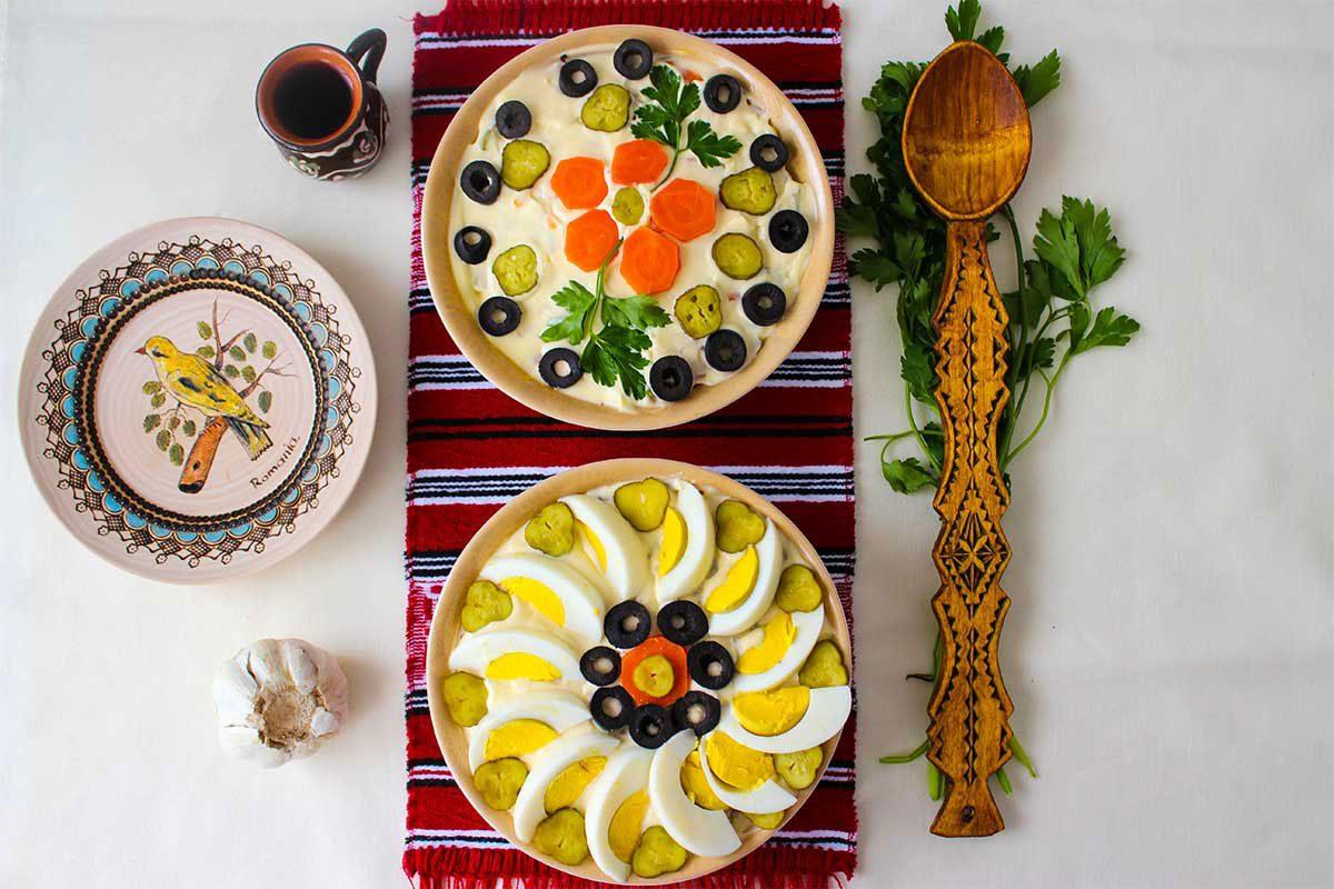 boeuf salads