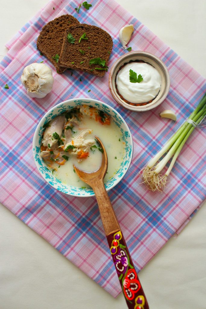 chicken soup with cream