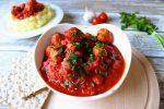 meatballs tomato garlic sauce
