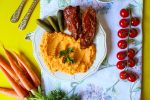 romanian beef with carrot puree