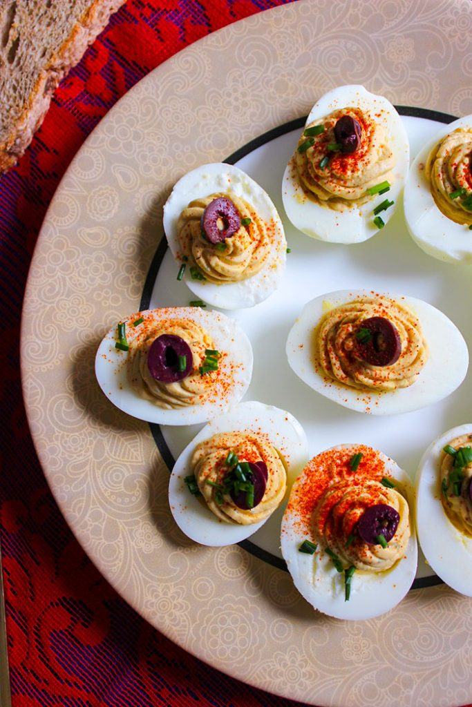 romanian deviled eggs
