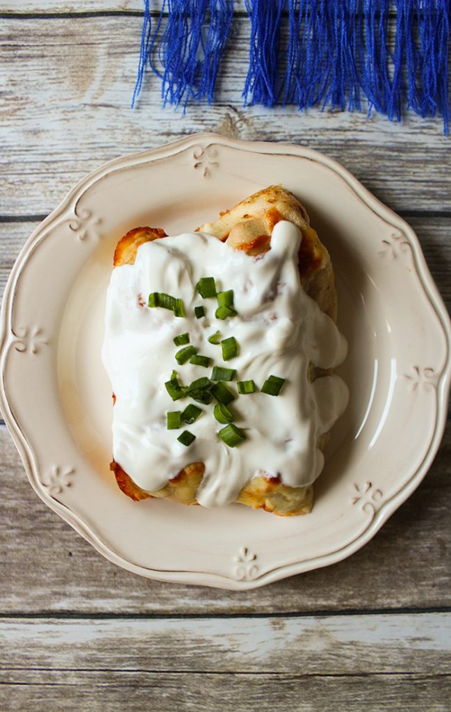 savory chicken mushroom crepes