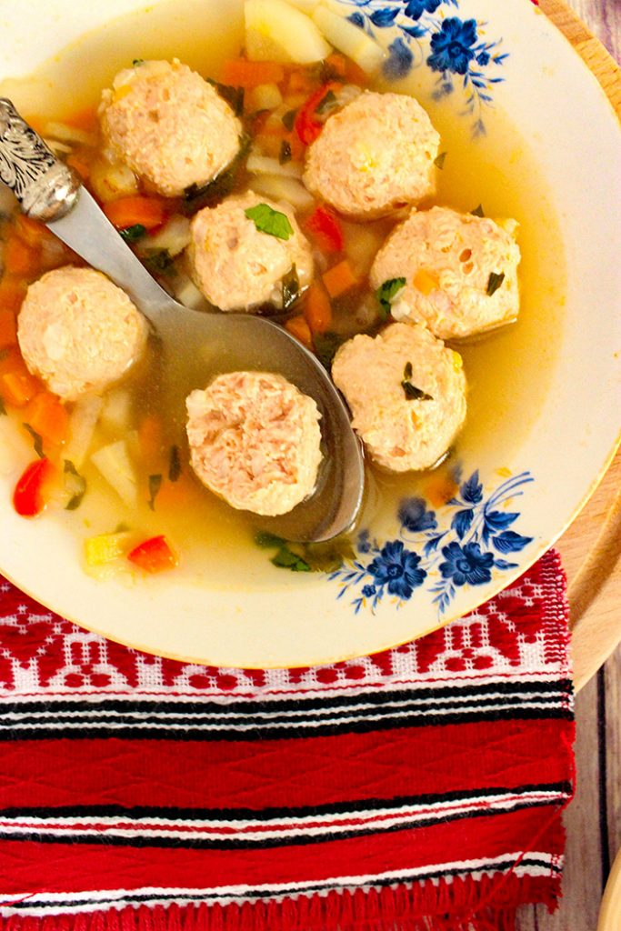 sour soup turkey meatballs