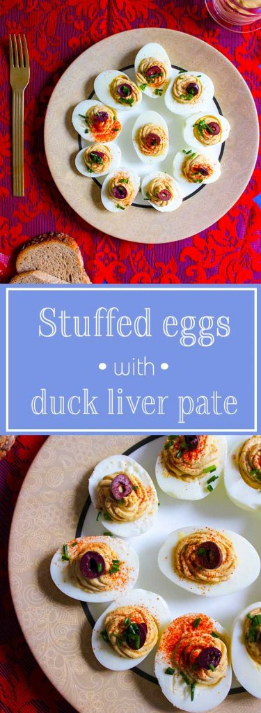 stuffed eggs pin
