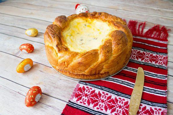 romanian easter sweet bread