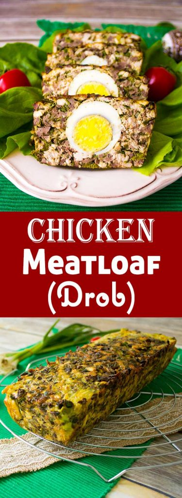 romanian easter meatloaf drob