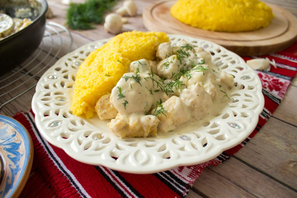 chicken and polenta