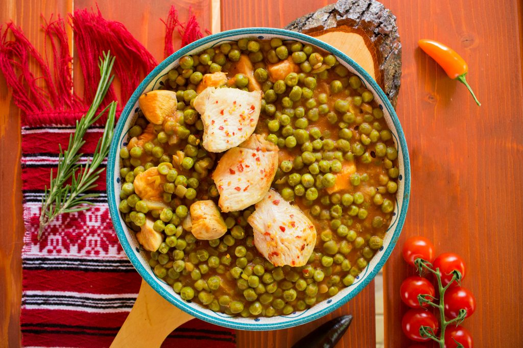 chicken peas stew