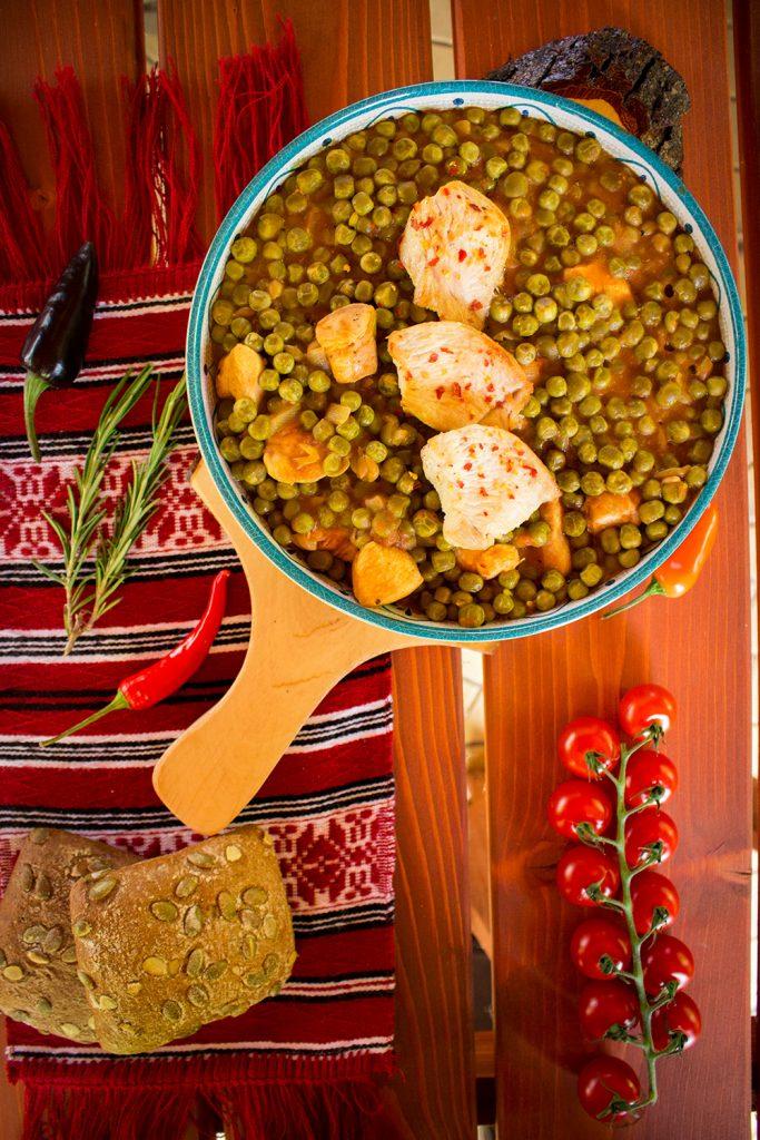 romanian peas stew
