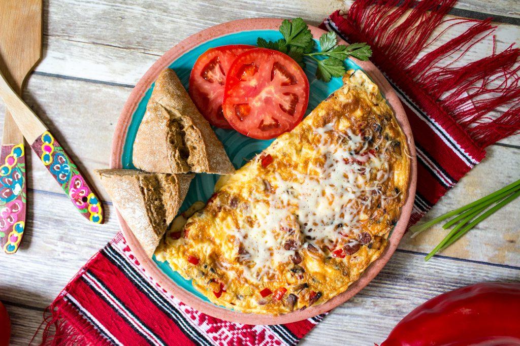 romanian omelette