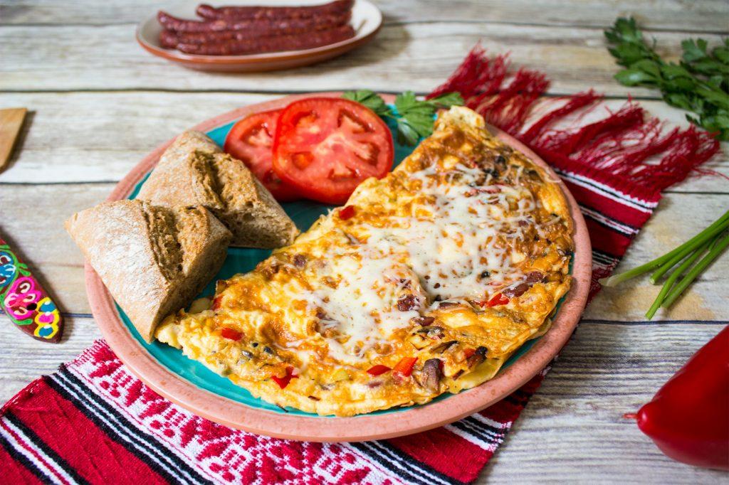 romanian peasant omelette