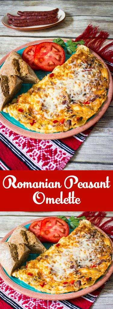 romanian peasant omelette pin