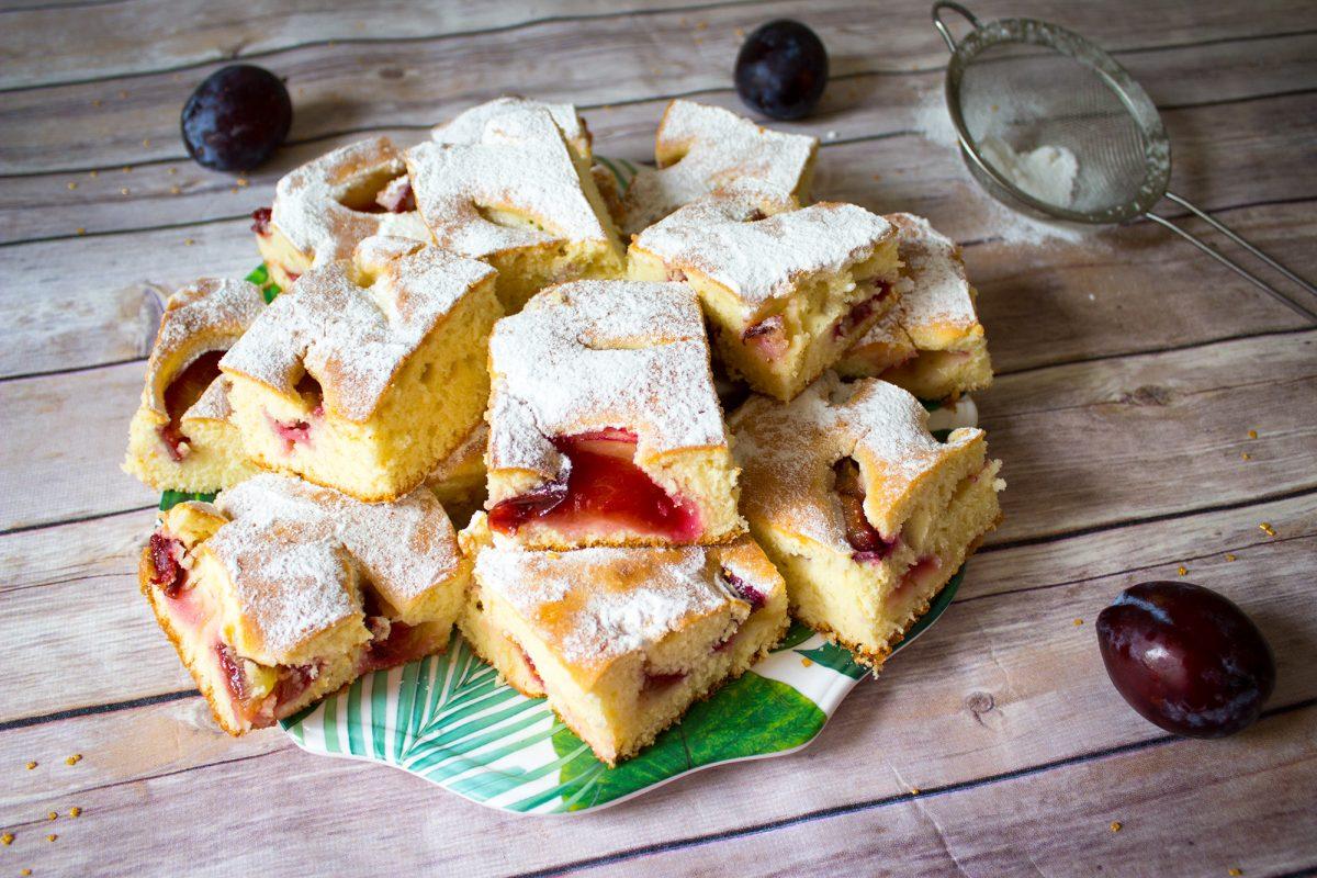 simple plum cake