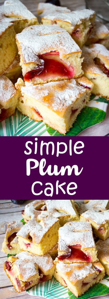 simple plum cake pin