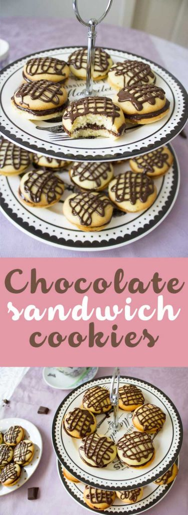 chocolate sandwich cookies pin