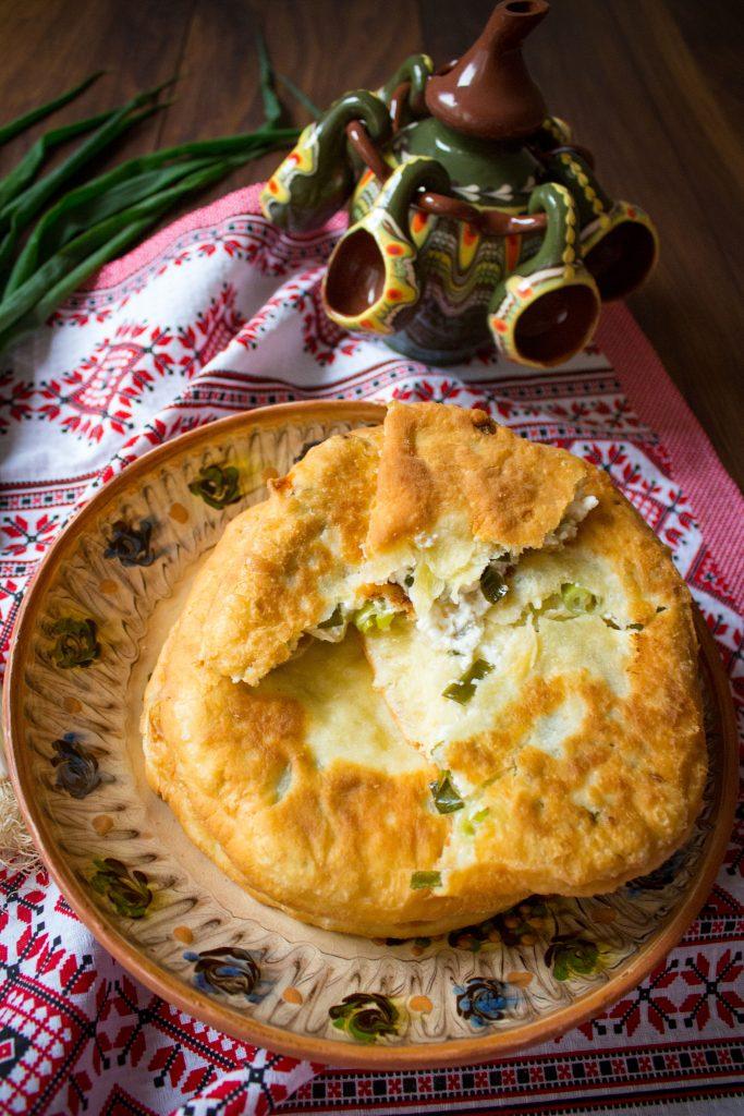 romanian savory pie section