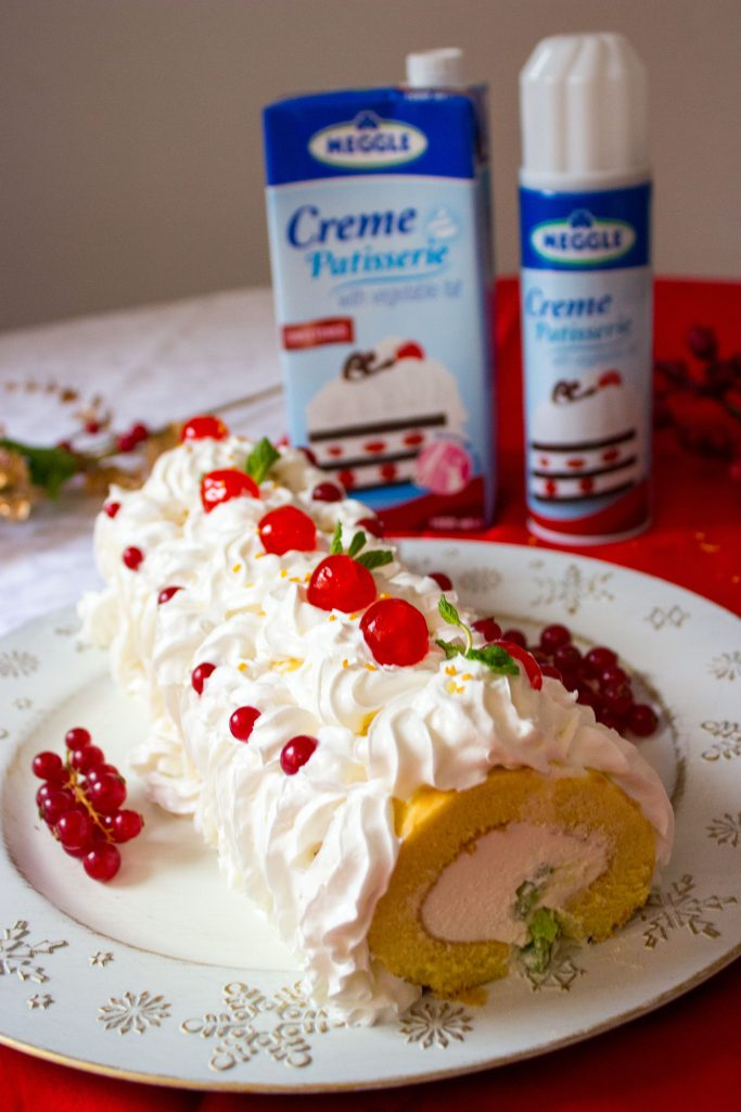 whipped cream roll