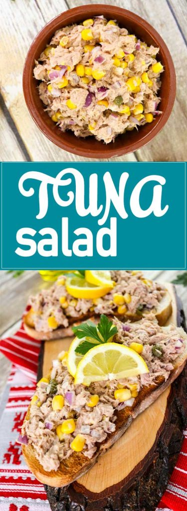 tuna salad pin