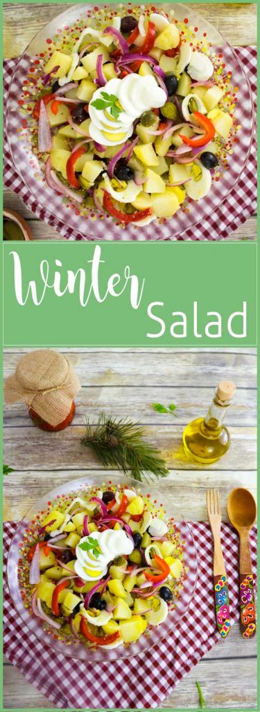 winter salad pin
