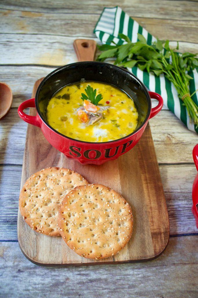 romanian sour duck soup