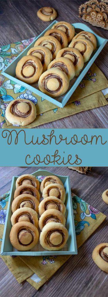 mushroom cookies pin